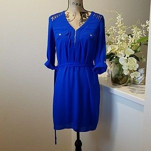 XOXO Blue Dress